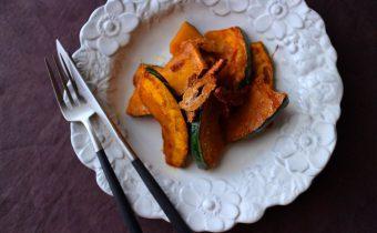 なつめ レシピ「かぼちゃとシナモンソテー」