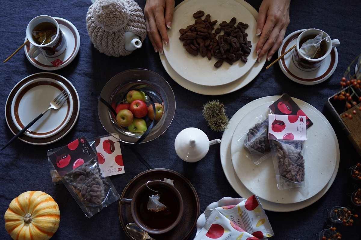 カカオポリフェノールなど美チョコとして人気のなつめのチョコチップ
