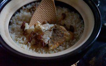 なつめ レシピ「鯛となつめの炊き込みご飯」