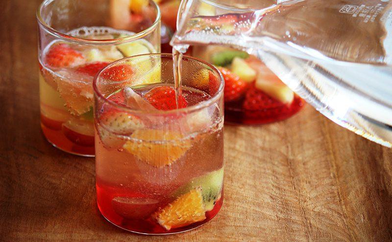 なつめ&ハーブのフレッシュフルーツジュース