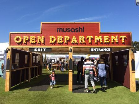 10/8.9 MUSASHI OPEN DEPARTMENT 出店のお知らせ