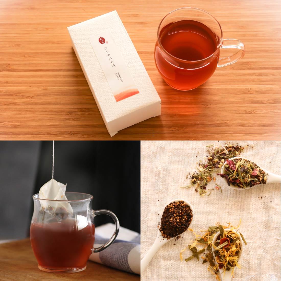 温まる なつめ のお茶