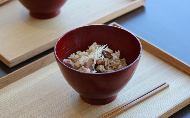 なつめ レシピ「里いもと生姜の炊き込みごはん」