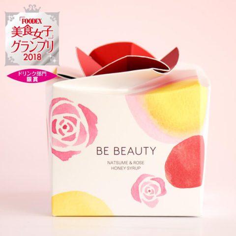 「美のエッセンス」として国産なつめ・国産百花はちみつ・国産バラから生まれたシロップ