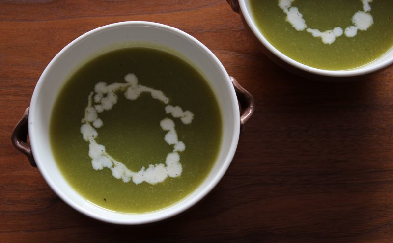 なつめ レシピ「春の味のスープ」