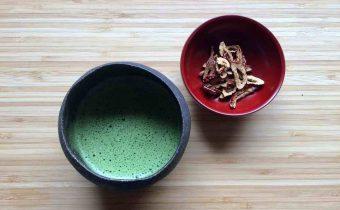 抹茶となつめチップ
