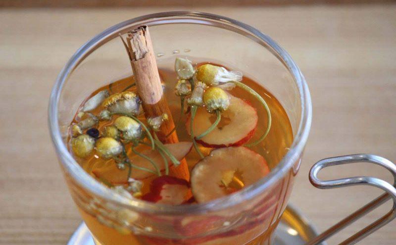なつめ レシピ「温めて潤してくれるお茶」