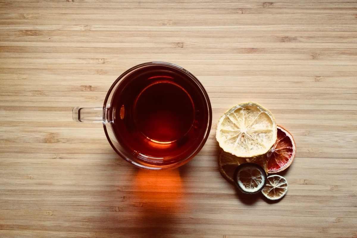なつめティーと柑橘フルーツ(なつめTEAを使ったレシピ)