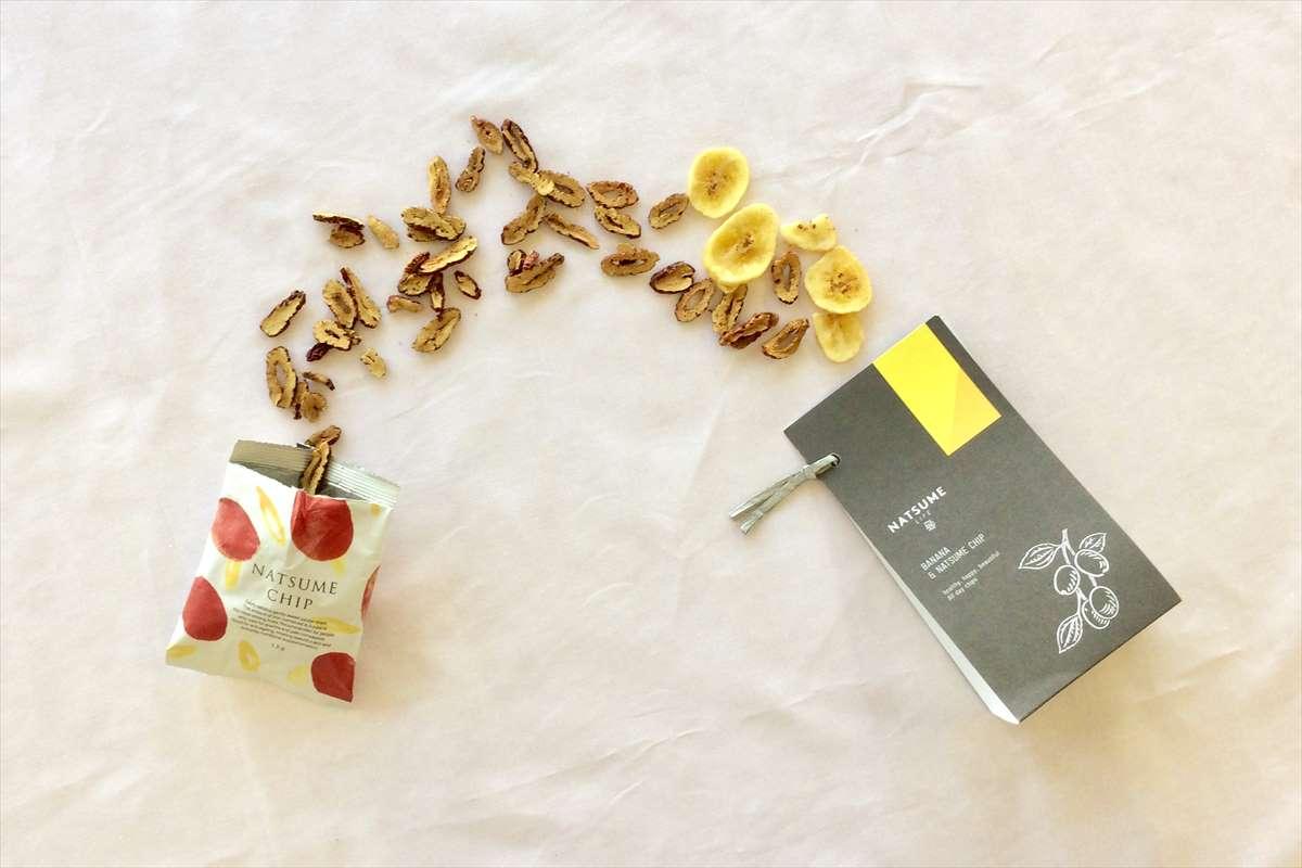 なつめチップと&CHIPバナナのイメージ画像