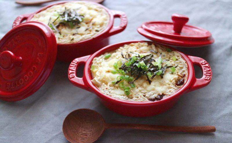 なつめ レシピ「山芋と豆腐のグラタン」