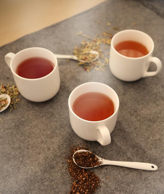 温まる「なつめのお茶」