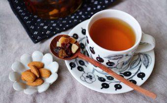 なつめ レシピ「ドライフルーツと紅茶」
