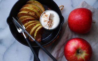 なつめ レシピ「焼きりんごの赤ワイン煮」