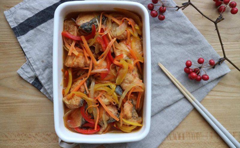なつめ レシピ「秋鮭の南蛮漬け」
