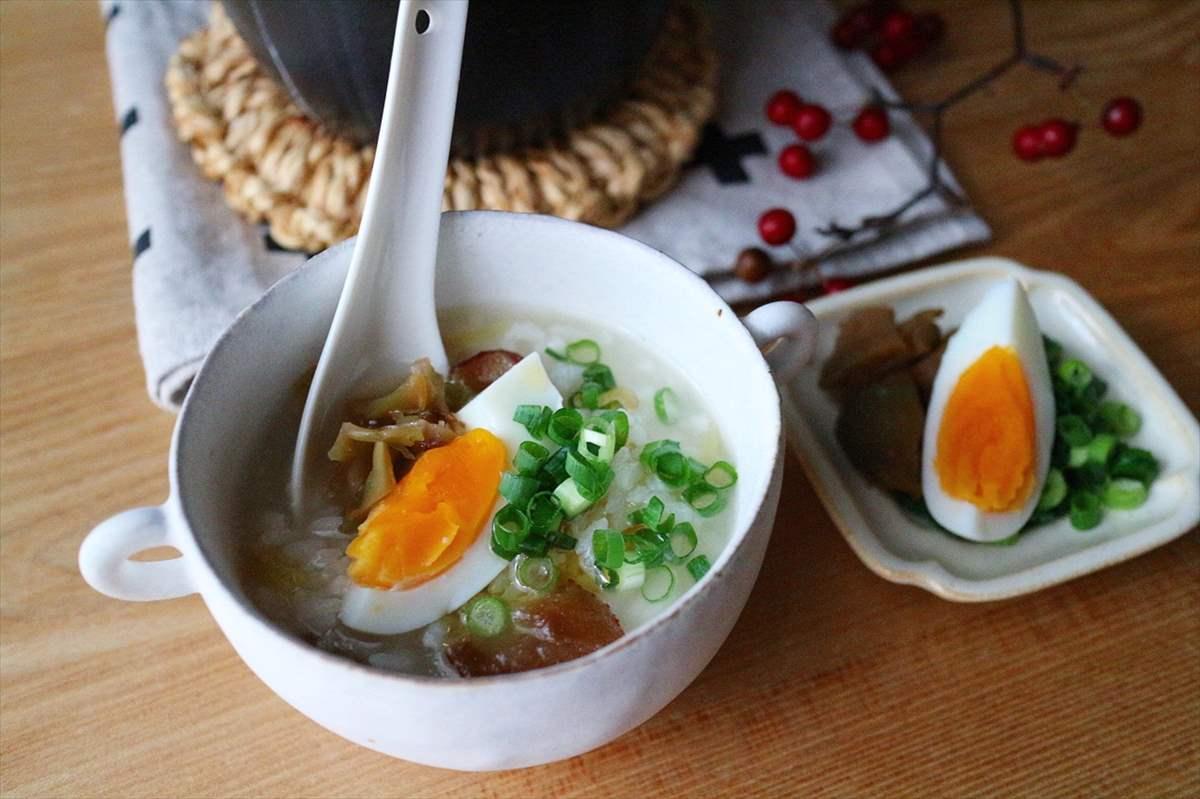 なつめチップの中華粥