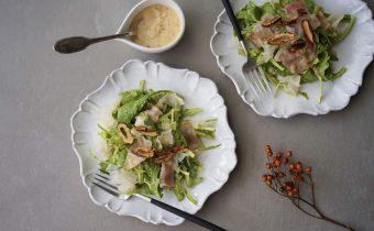 なつめ レシピ「春菊と白木耳(きくらげ)のサラダ」