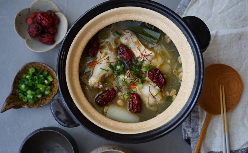 なつめ レシピ 「かんたん参鶏湯風鍋」