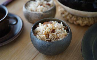 なつめ レシピ  寒くなる前に!!冷え対策に「くるみと新生姜の炊き込みご飯」