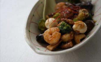 レシピ なつめ「野菜の中華あんかけ」