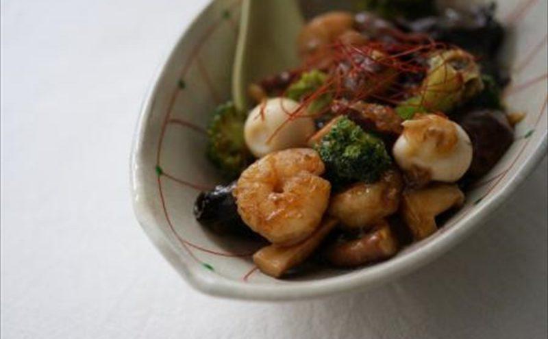 なつめ レシピ 「野菜の中華あんかけ」