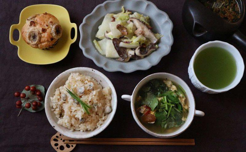 1月のレシピは胃腸の疲れがある時や回復風邪の時のごはん