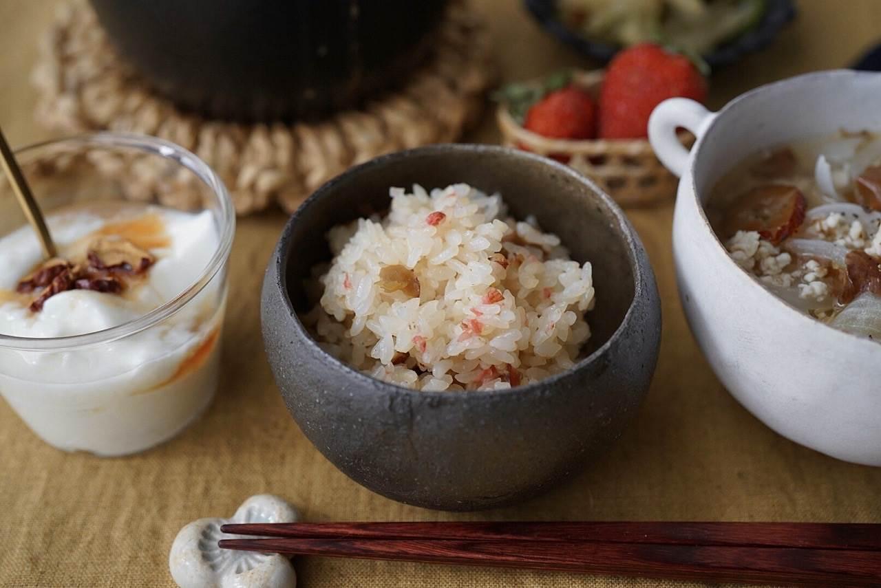桜の塩漬けまぜご飯