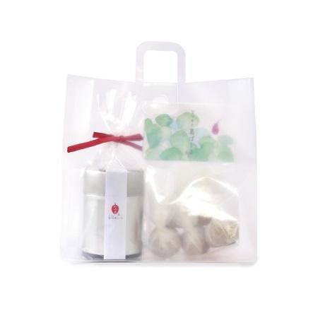 奈良の本葛を使った焼菓子と国産なつめのセット