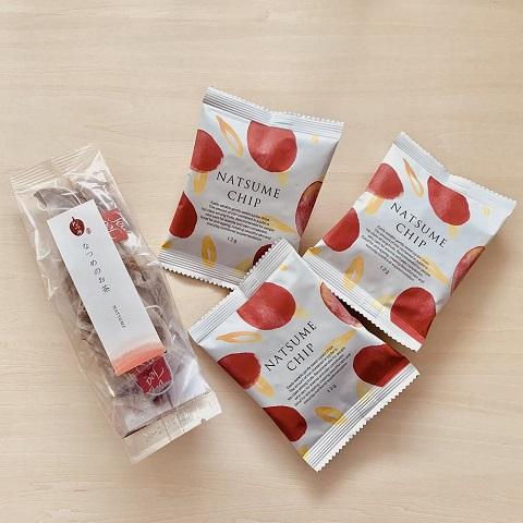 国産なつめを使った「なつめのお茶」 韓国の品質を保持された生産者から輸入している「なつめチップ」です