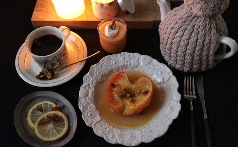 12月のレシピは「お茶会」がテーマです