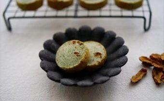 なつめ レシピ 「よもぎと棗の米粉クッキー」