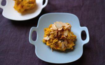 なつめ レシピ「かぼちゃとチリマヨソースサラダ」