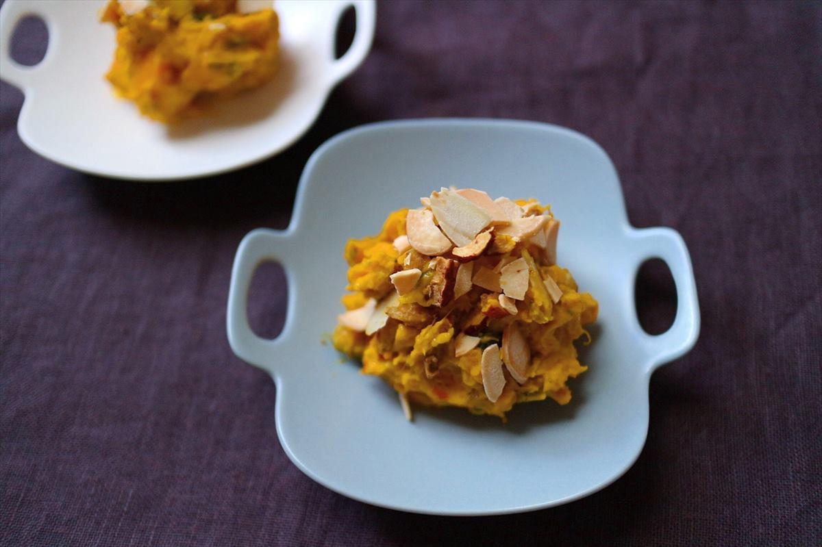 かぼちゃとチリマヨソースサラダの画像