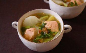 なつめ レシピ 「鮭の和風ポトフ」