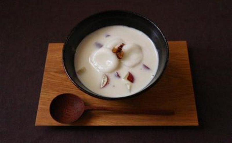 なつめ レシピ「さつまいものココナッツミルク」