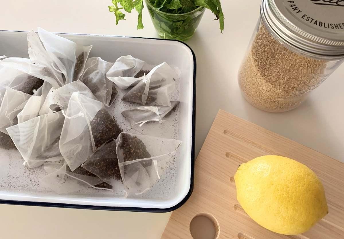 シンプルな素材で無添加の手作りシロップ