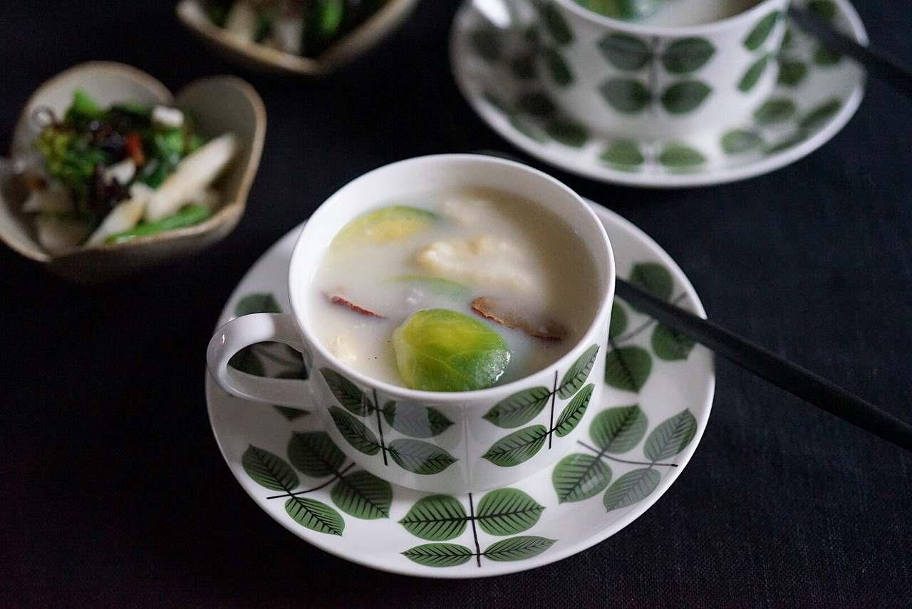 ビタミンや葉酸、カリウムが豊富な芽キャベツを使ったなつめチップのレシピ