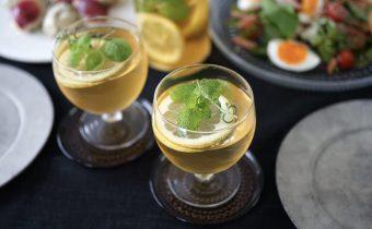 なつめ レシピ  夏に活躍の薬膳茶「レモンとフレッシュハーブのアイスティ ー」