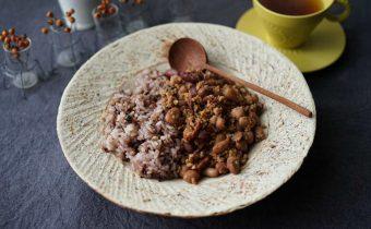 なつめ レシピ 「鶏肉と豆のドライカレー 」