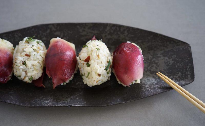 なつめ レシピ  夏バテ注意 食欲がないときに「ひとくちみょうが寿司」