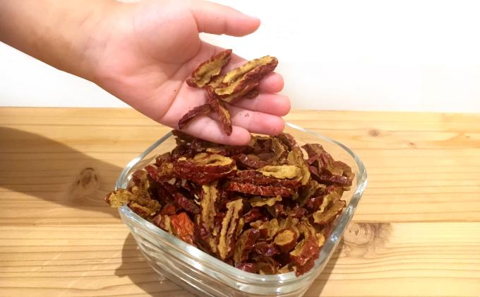 棗(なつめ、ナツメ)のなつめチップはとっても人気。効果・効能は優れており、妊活・更年期・PMS・冷え性に良い 棗(なつめ、ナツメ)のなつめチップスはとても優秀、カリウム・亜鉛・葉酸・鉄分・ポリフェノールがたっぷり なつめいろ(NATSUMELIFE)の棗(なつめ、ナツメ)なつめチップはとても優秀、プロリン・ポリフェノールたっぷりでアンチエイジングに良い なつめいろ(NATSUMELIFE)の玄米となつめのグラノーラはとても美味しい。ミネラル・ビタミンB群・たんぱく質・食物繊維がたっぷり、貧血や更年期・PMSに良い。